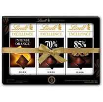 Chocolate lindt excellence 3 unidades sortidos 100g
