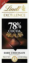 Chocolate lindt excellence 78% cacau dark (100g)