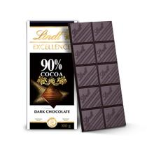 Chocolate lindt excellence 90% cacau dark (100g)