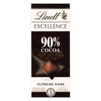 Chocolate Lindt Excellence 90% Cocoa Supreme Dark 100g