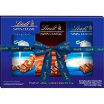 Chocolate lindt swiss classic 3 unidades sortidos 100g