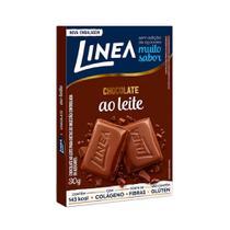 Chocolate Linea Ao Leite Diet 30g - Emblagem c/ 15 unidades -