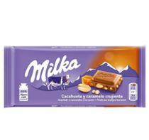 Chocolate Milka Peanut Crispy Caramel 90g -