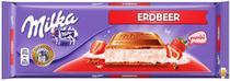 Chocolate milka strawberry - sabor morango (300g) -