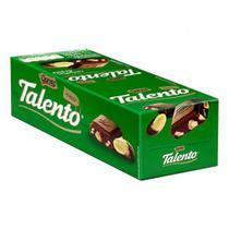 Chocolate Mini Talento Verde Castanha Pará 15X25g - Garoto -