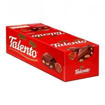 Chocolate Mini Talento Vermelho Avelãs 15X25g - Garoto -