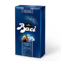 Chocolate nestlé perugina baci - clássico original dark bijou 200g -
