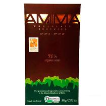 Chocolate Orgânico 75% Cacau AMMA 80g - Amma chocolates