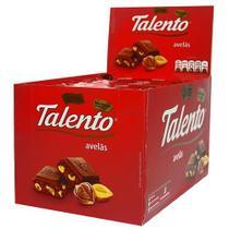 Chocolate Tablete Talento Vermelho Avelãs 90Gr C/12un - Garoto -