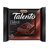 Chocolate talento 75gr nibs & de cacau dark 70% cacau - Garoto