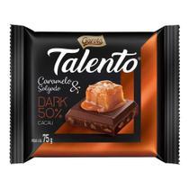 Chocolate Talento Dark Caramelo e Sal 75g - Garoto -