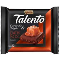 Chocolate Talento Dark Caramelo Salgado 15 unidades 75g - Garoto