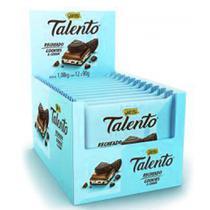 Chocolate Talento Recheado Cookies Cream 90g c/12 - Garoto -
