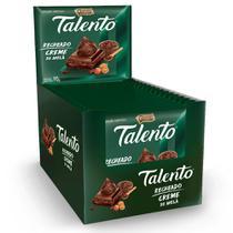 Chocolate Talento Recheado Creme de Avelã 90g c/12 - Garoto -