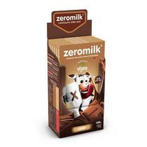 Chocolate Zeromilk 40% - Crisp Sem Lactose Caixa com 6 un de 80g - Tudo Zero Leite