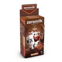 Chocolate Zeromilk 40% - Puro Sem Lactose Caixa com 6 un de 80g - Tudo Zero Leite