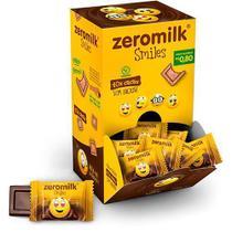 Chocolate Zeromilk 40% - Smile Sem Lactose Caixa com 30 un de 5g - Tudo Zero Leite