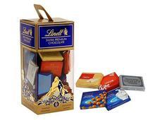 Chocolates sortidos napolitains lindt 350g 56 unidades -