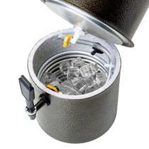 Chopeira 7 Litros com Conector para Barril Chopp Prata - Mariz
