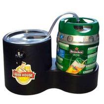 Chopeira Magic Beer para Barril Heineken Kaiser 5 Litros Chopp Cerveja - Mariz