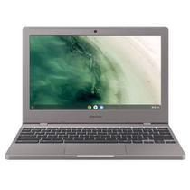 "Chromebook 11.6"" Celeron N4000, 4GB, 32GB, Google Chrome OS - Prata - XE310XBA-KT1BR  SAMSUNG -"