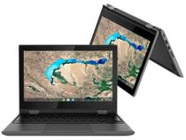 """Chromebook 2 em 1 Lenovo 300E Intel Celeron - 4GB 32GB eMMC Touch Screen 11,6"""" Chrome OS"""