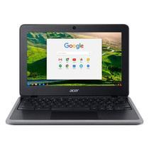 "Chromebook Acer 11.6"" C733T-C2HY Intel Celeron N4020 Touchscreen 4GB Ram 32GB eMMC Chrome OS Preto -"