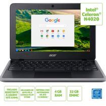 Chromebook Acer 11,6'' C7 C733-C607 Celeron 4GB eMMC 32GB OS -