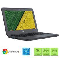 """Chromebook Acer N7 C731-C9DA Intel Celeron 4GB RAM 32 eMMC Tela de 11.6"""" HD Chrome OS -"""