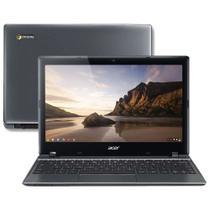 "Chromebook Intel Dual Core 1.5GHz 2GB 16GB SSD LED 11,6"" Chrome OS C7 10-2859 ACER -"