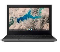 """Chromebook Lenovo 100e(2ª Geração) Intel Celeron N4020  4GB 32GB 11,6"""" HD Chrome OS, Preto - Lenovo Coml"""