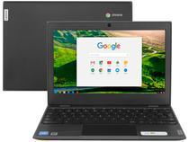 """Chromebook Lenovo 100E 81MA001TBR Intel Celeron - 4GB 32GB eMMC 11,6"""" Chrome OS"""