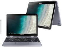 """Chromebook Plus 2 em 1 Samsung XE521QAB-AD1BR - Intel Celeron 4GB 32GB Touch Screen 12,2"""" Full HD"""