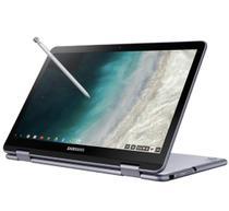 Chromebook Plus Samsung Touchscreen, Intel Celeron 3965Y, 4GB, 32GB, Chrome OS, 12.2 - XE521QAB-AD1BR -
