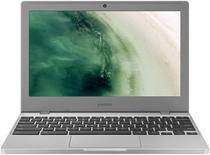 Chromebook Samsung SS Intel Celeron 2.6GHz 4GB RAM 32GB SSD Tela 11.6 - Prata -