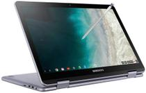 Chromebook Samsung SS Plus 2 em 1 4GB RAM 32GB SSD OS Tela Full HD 12.2 - Prata -