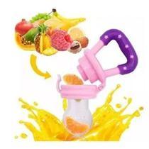 Chupeta alimentadora para bebe c/ reservatorio (rosa) - Chuca