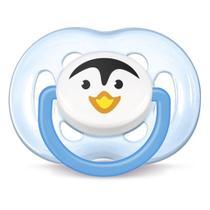 Chupeta Avent Freeflow Pinguim Unitário  Menino -