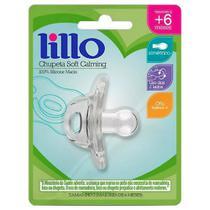Chupeta de Silicone - Soft Calming - Tamanho 2 - Transparente - Lillo -