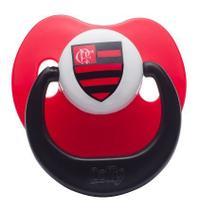 Chupeta Flamengo Silicone Bico Orto Tam 1 - Lolly -