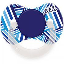 Chupeta Lillo Orto - Funny - Maiores de 6 meses - Desenho Azul -