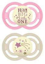 Chupeta mam perfect night 6+ meses - embalagem dupla rosa - 2982 -
