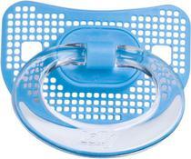 Chupeta Net Bico Redondo T2 Azul Lolly -