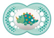 Chupeta Original Tam.2 (6+ meses) Dino Azul - MAM -