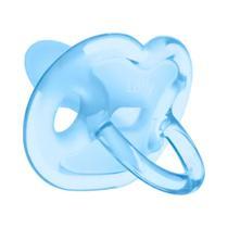 Chupeta Special Lolly Baby 100% Silicone Ortodôntico T2 Azul -