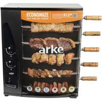 Churrasqueira à Gás Rotativa com 5 Espetos AGR-05 ARKE -