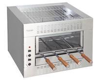 Churrasqueira Elétrica 1 Galeria 4 Espetos - Balcão Gourmet 220V Felesa -