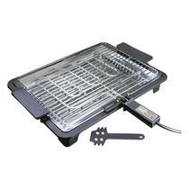 Churrasqueira elétrica 1700 wats Anurb PLATINUM Preta 110V -