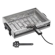 Churrasqueira elétrica 1700 wats Anurb SUPREMA Preta 220V -