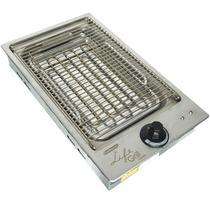 Churrasqueira Elétrica Cooktop Embutir 2000W Inox 220V Cotherm 1942 Life Grill Classic -